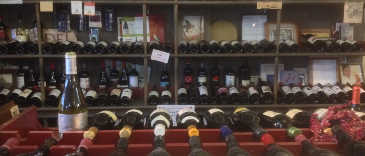 Lots of Wines to choose from